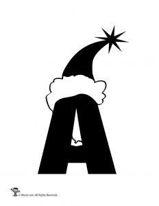 Santa Letter A