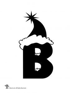 Santa Letter B