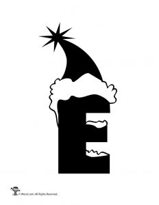 Santa Letter E