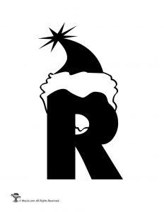 Santa Letter R