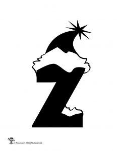 Santa Letter Z