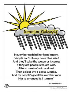 November Philosophy Poem