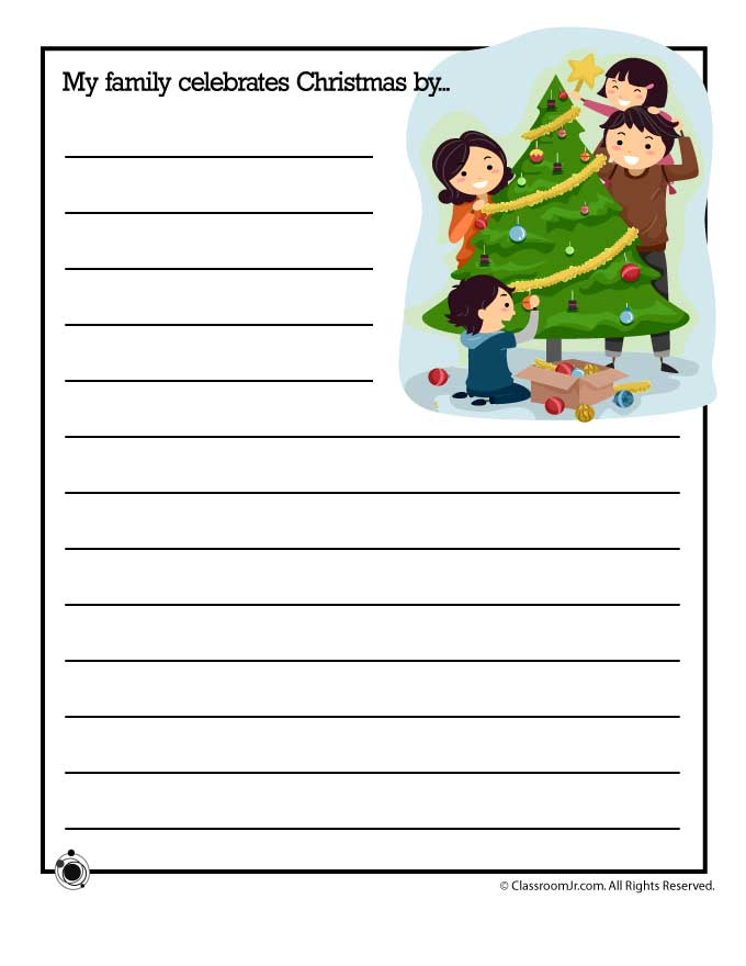 christmas writing paper for kids Dear santa letter christmas santa's we love encouraging children to write letters any day and writing to santa is one of the highlights – what you'd.