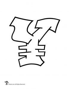 Graffiti Japanese Yen Sign