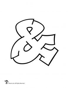 Graffiti Ampersand