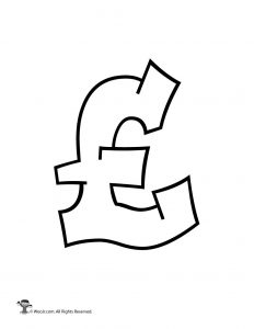 Graffiti British Pound Sign
