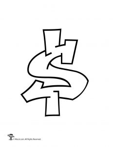 Graffiti Dollar Sign
