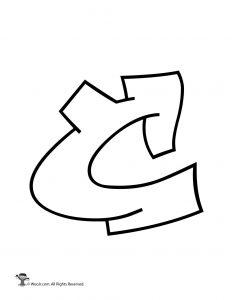 Graffiti Capital Letter C