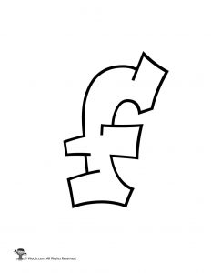Graffiti Lowercase Letter f