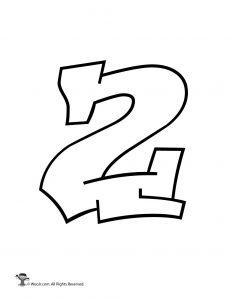 Graffiti Number 2