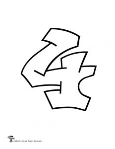 Graffiti Number 4