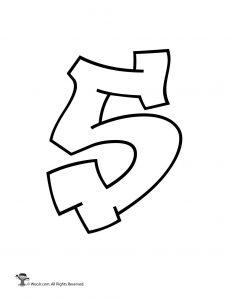 Graffiti Number 5