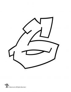 Graffiti Number 6