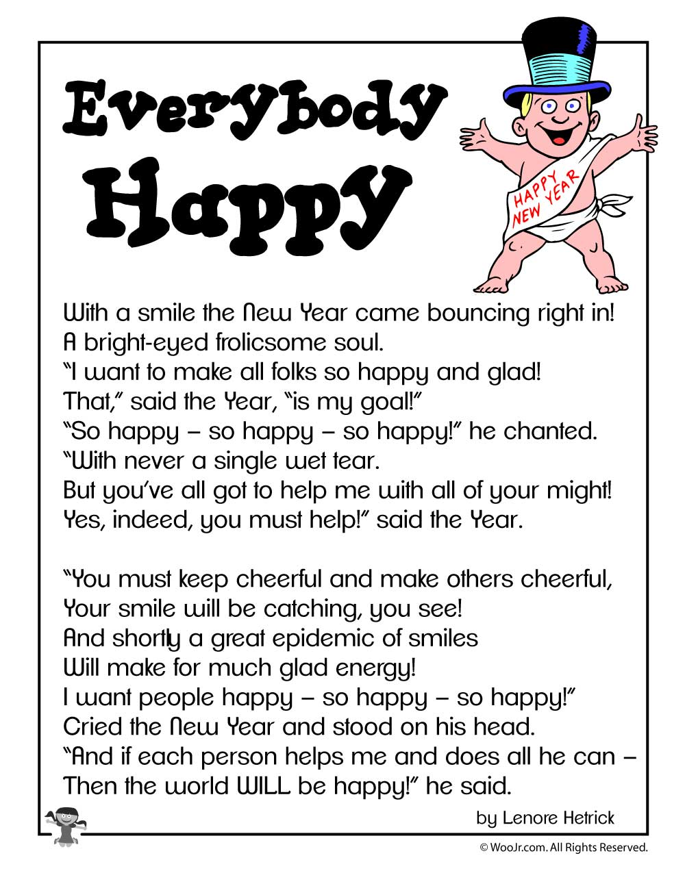 New Year\'s Poems for Kids | Woo! Jr. Kids Activities