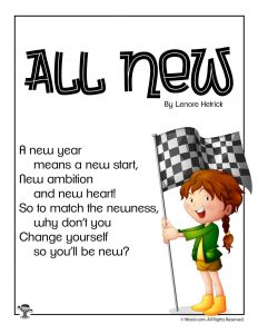 All New Poem for Children