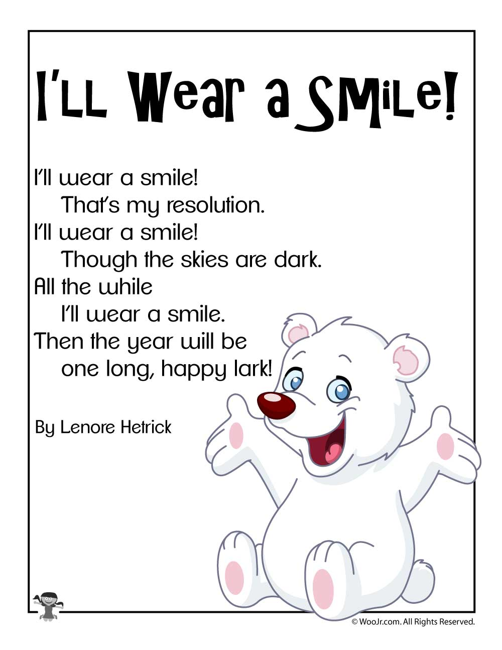 I Ll Wear A Smile Short New Years Poem