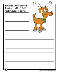 If Rudolph the Red-Nosed Reindeer could talk, he'd want everyone to know...