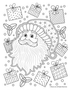 beautiful printable christmas adult coloring pages woo jr kids activities beautiful printable christmas adult