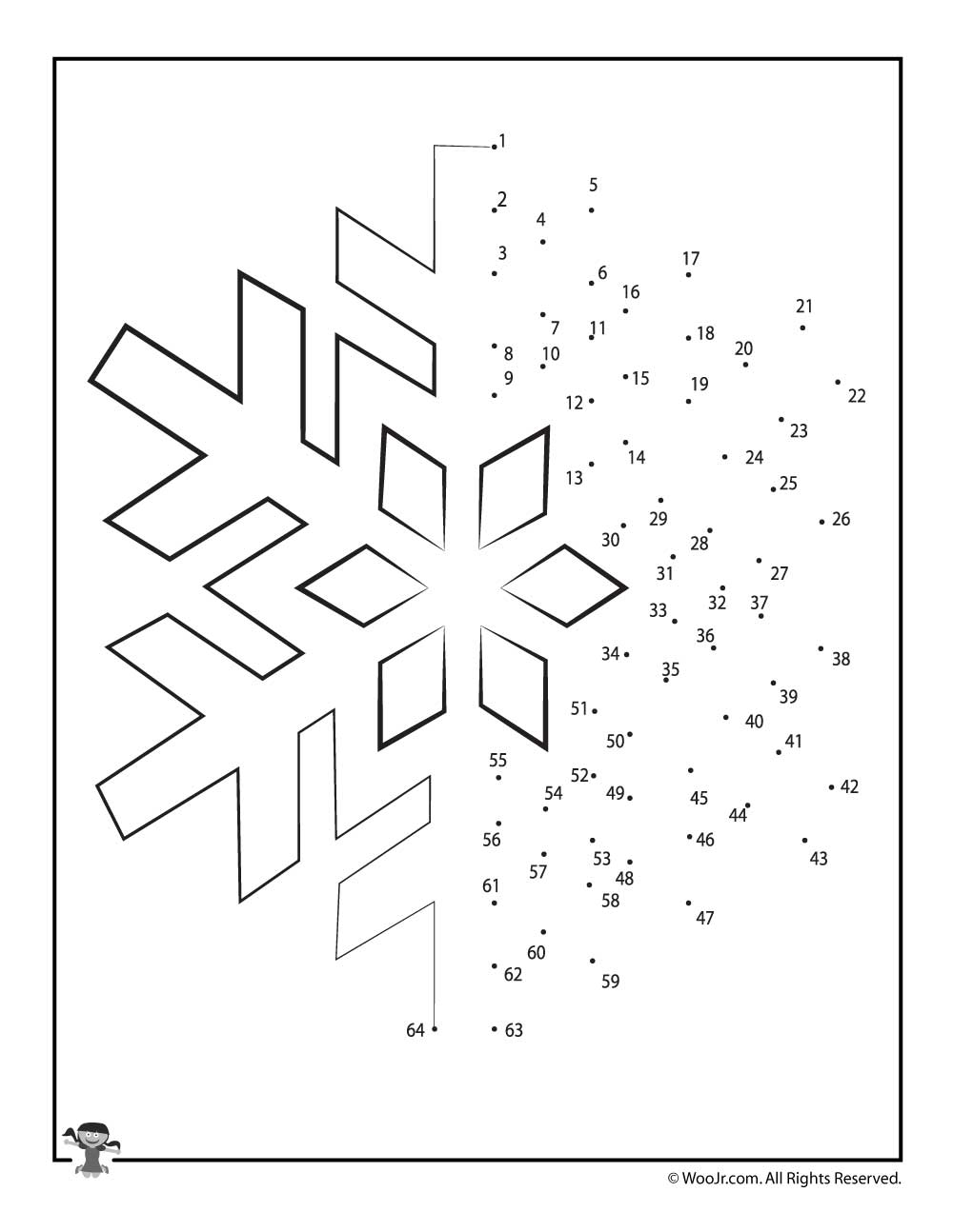 Christmas Connect the Dots Worksheets - Woo! Jr. Kids Activities