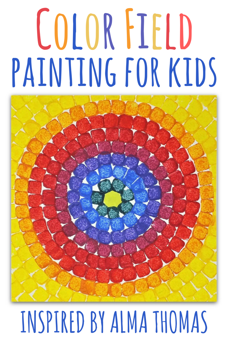 Color Field Painting For Kids: Inspired By Alma Thomas | Woo! Jr ...