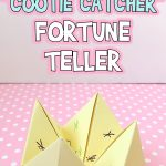 How to Fold A Cootie Catcher Fortune Teller
