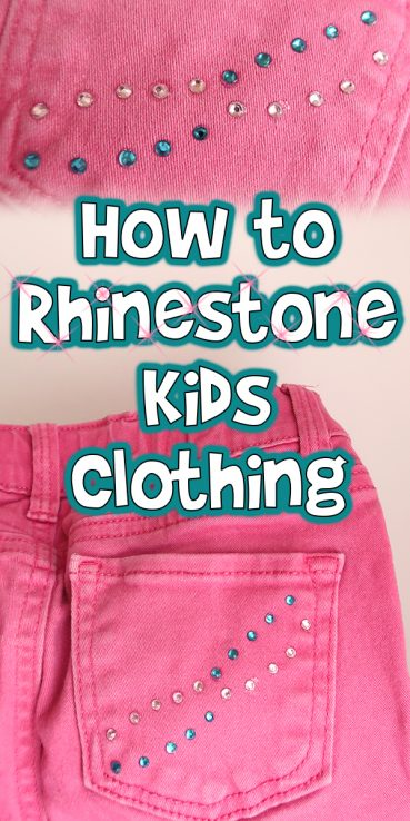 How to Rhinestone Kids Clothing