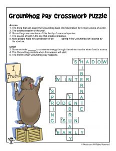 Groundhog Day Crossword Answers