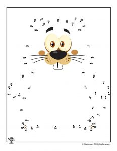 Groundhog Dot to Dot Printable