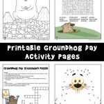 Groundhog Day Activity Pages