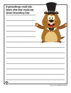 If groundhogs could talk, here's what they would say about Groundhog Day...