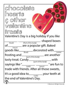 Chocolate Hearts and Other Valentine Treats Ad Lib