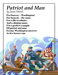 Patriot and Man George Washington Poem