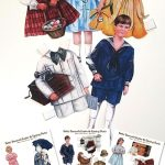 Easter Betty Bonnet Printable Vintage Paper Dolls