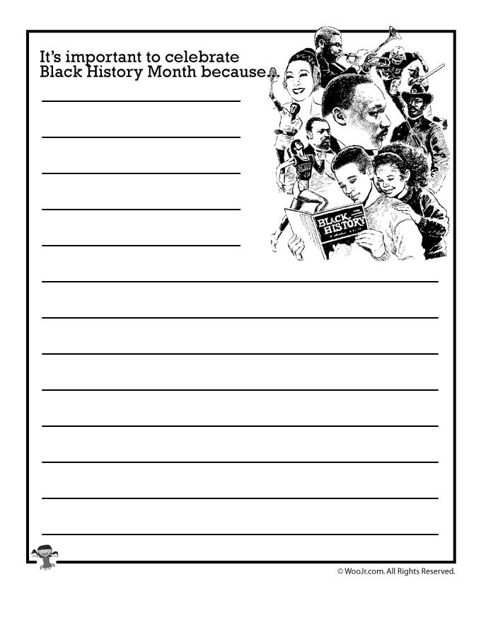 photograph relating to Black History Month Printable Activities identified as Its essential in the direction of rejoice Black Record Thirty day period due to the fact