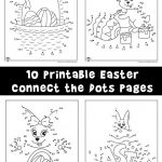 Easter Connect the Dots Printables