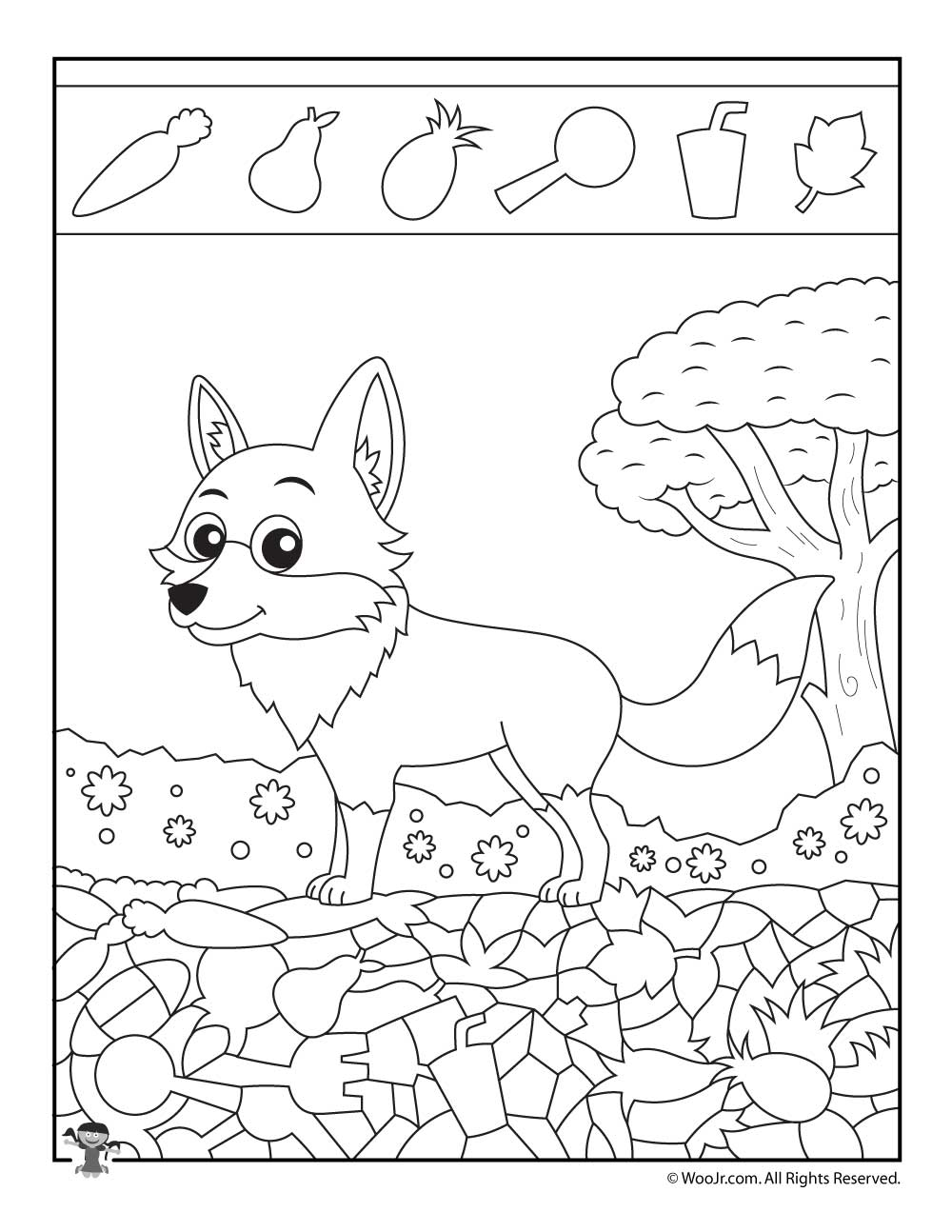 Free Printable I Spy Coloring Pages