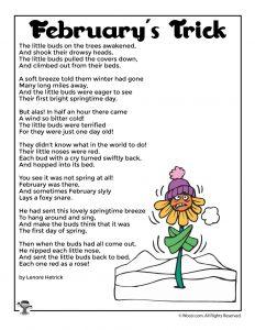 February's Trick Kids Poem