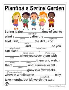 Planting a Spring Garden!