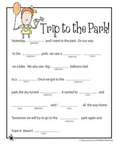 Spring Ad Libs – A Trip to the Park!