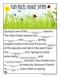 Fun Facts About Spring!