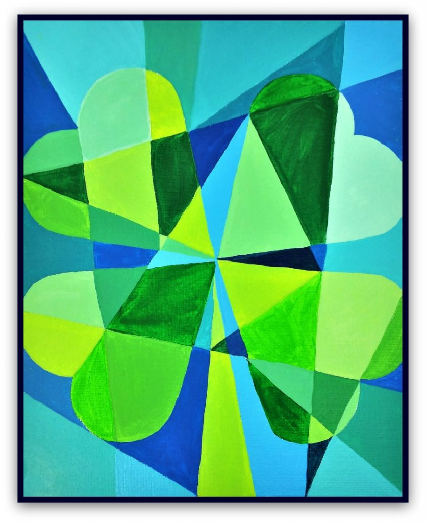 This Fun And Easy Abstract Art Project Can Bring A Little Creativity To St Patricks Day