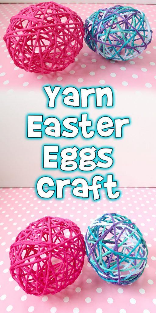Yarn Easter Eggs Craft