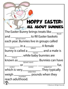 All About Bunnies Ad Libs