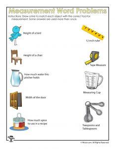 How to Measure Worksheet