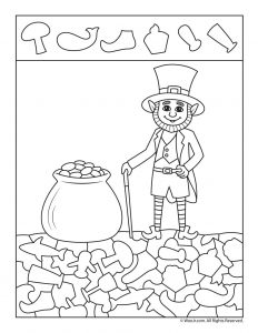 Pot o' Gold Find the Item Printable