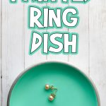 DIY Painted Ring Dish Tutorial