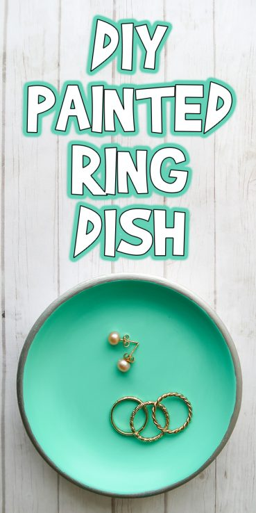 DIY Painted Ring Dish Tutorial