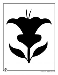 image regarding Printable Flowers Stencils known as Printable Flower Stencils Templates Woo! Jr. Youngsters Pursuits