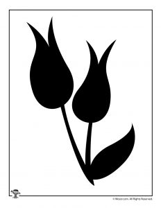 graphic regarding Printable Flowers Stencils referred to as Printable Flower Stencils Templates Woo! Jr. Children Pursuits