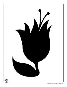 Tulip Craft Template Printable
